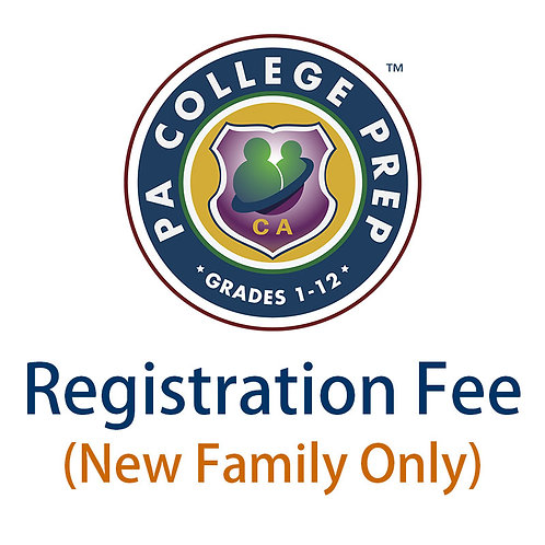 Registration Fee (New Family Only)