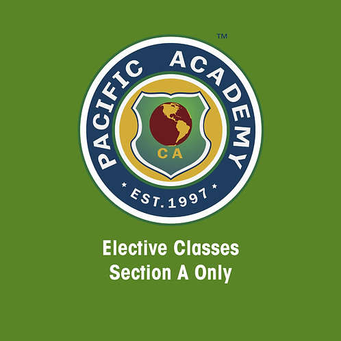 Activity Classes (5 Days, Section A Only)