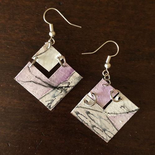 Cubist - violet/linear