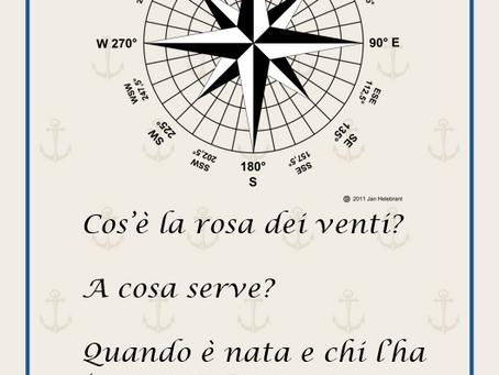 Seconda scheda Curiosità del navigante: La rosa dei venti.