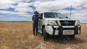 Ian's Hilux Clocks Over to 1.1 Million Kms