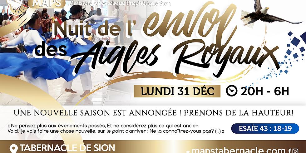 NUIT DE L'ENVOLE DES AIGLES ROYAUX 2019