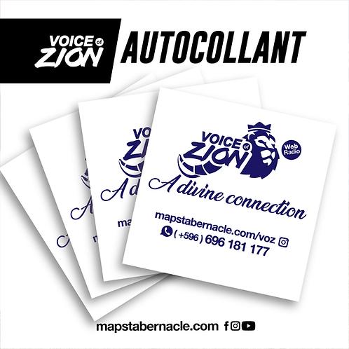 VOZ / AUTOCOLLANTS