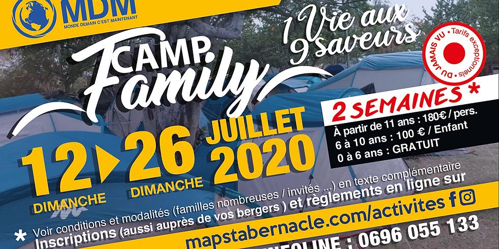 CAMP FAMILLE-JUILLET 2020