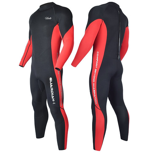 Hevto Wetsuits Men 3mm Neoprene Full Diving Suits Scuba Keep Warm