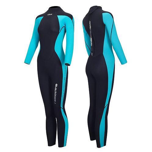 Hevto Wetsuits Women 3mm Neoprene Full Scuba Diving Suits Keep Warm