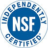National Sanitation Foundation Certified