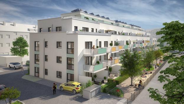 Ansicht Nord-West Haus K1