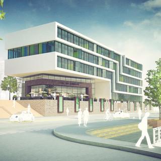 Wettbewerb Bürogebäude