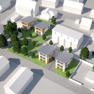 Grundstücksbebauung Karlstein