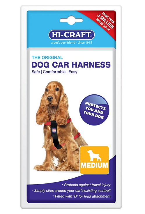 HI CRAFT Original Dog Car Harness