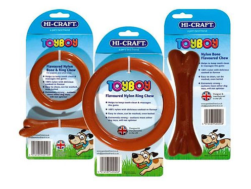 TOYBOY Nylon Flavoured Dog Chews *MADE IN THE UK*