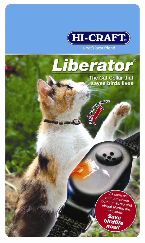 Liberator Audio Visual Cat Collar