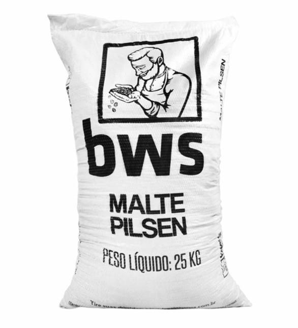 Saca de malte pilsen da marca BWS