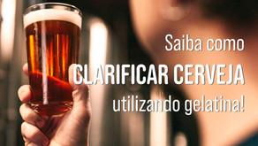 Passo a passo para Clarificação da Cerveja com Gelatina