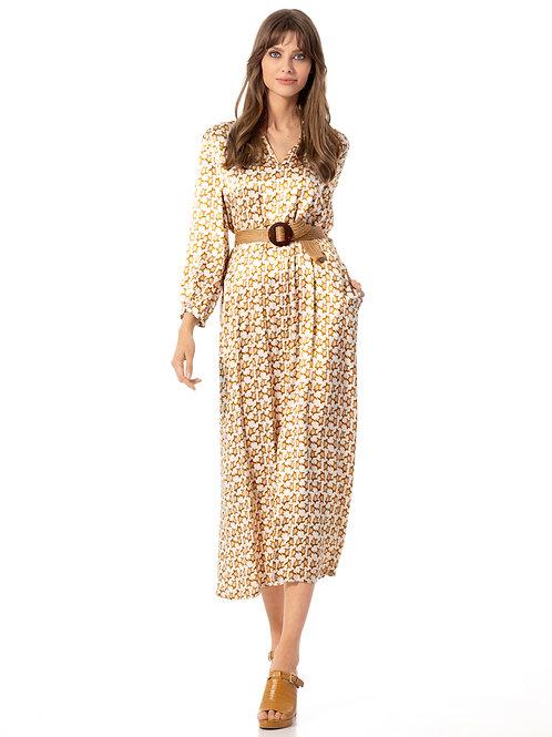 CAROLINE BISS kleed met SCHILDPAD motief