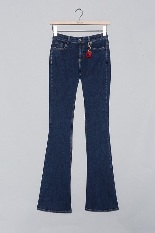 MY TWIN jeans PATTES ELEPHANT stretch