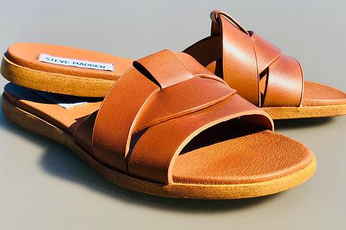 STEVE MADDEN slippers VIVIEN zwart/cognac