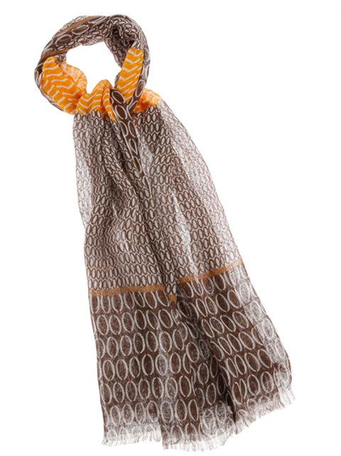 CAROLINE BISS sjaal CURCUMA