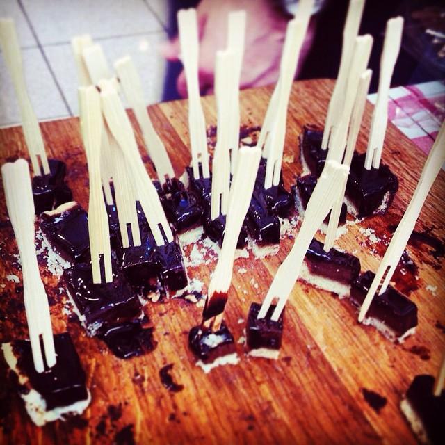 Instagram - Tastes ריבועי טארט שוקולד 🍫