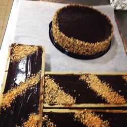 Instagram - עוגות מוס שוקולד ואגוזי לוז אפויות ללא קמח. ניתן להזמין כעוגות אישיו