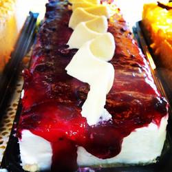 Instagram - עוגת פס גבינה עם אוכמניות טריות  Fresh blueberries confiture cheese