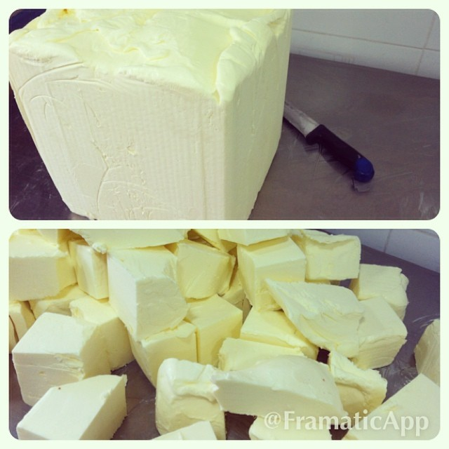 Instagram - unassembled Yellow Butter cube. The key to our delicate pastrys.jpg