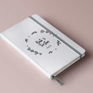 Mynotebook Bryllups notesbog