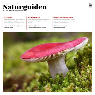 Forside til Naturguiden