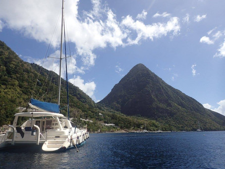 Snorkeling in St. Lucia