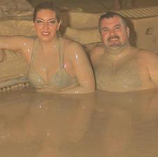 Mud bath in Mexico