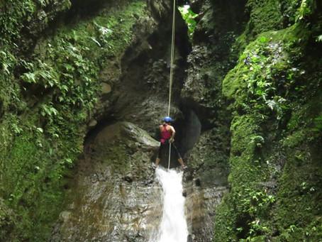 Rappelling Waterfalls and Ziplining Volcanoes - La Fortuna, Costa Rica