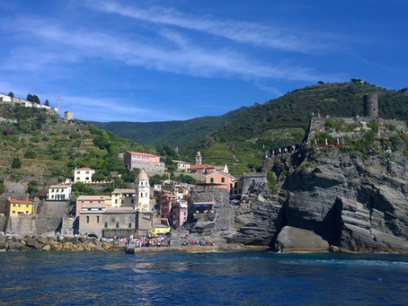 The Colorful Seaside Villages of Cinque Terre, Italy
