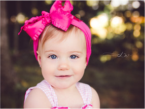 Finnleigh's 1st Birthday   Louisville Child Photographer
