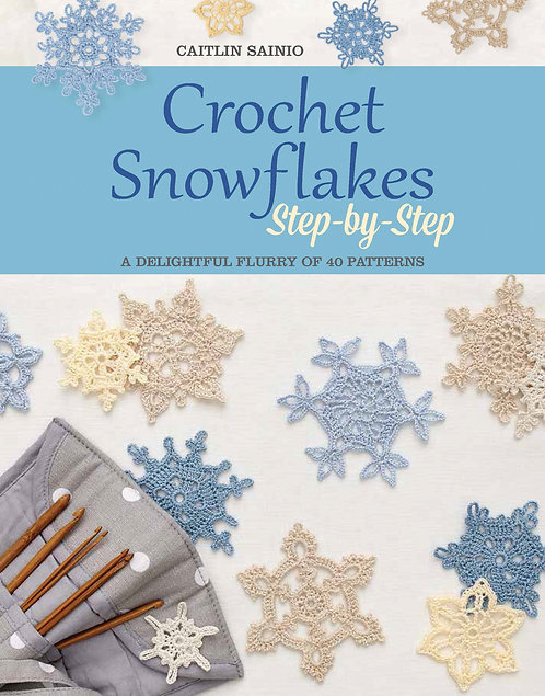 Crochet Snowflakes - Step by Step