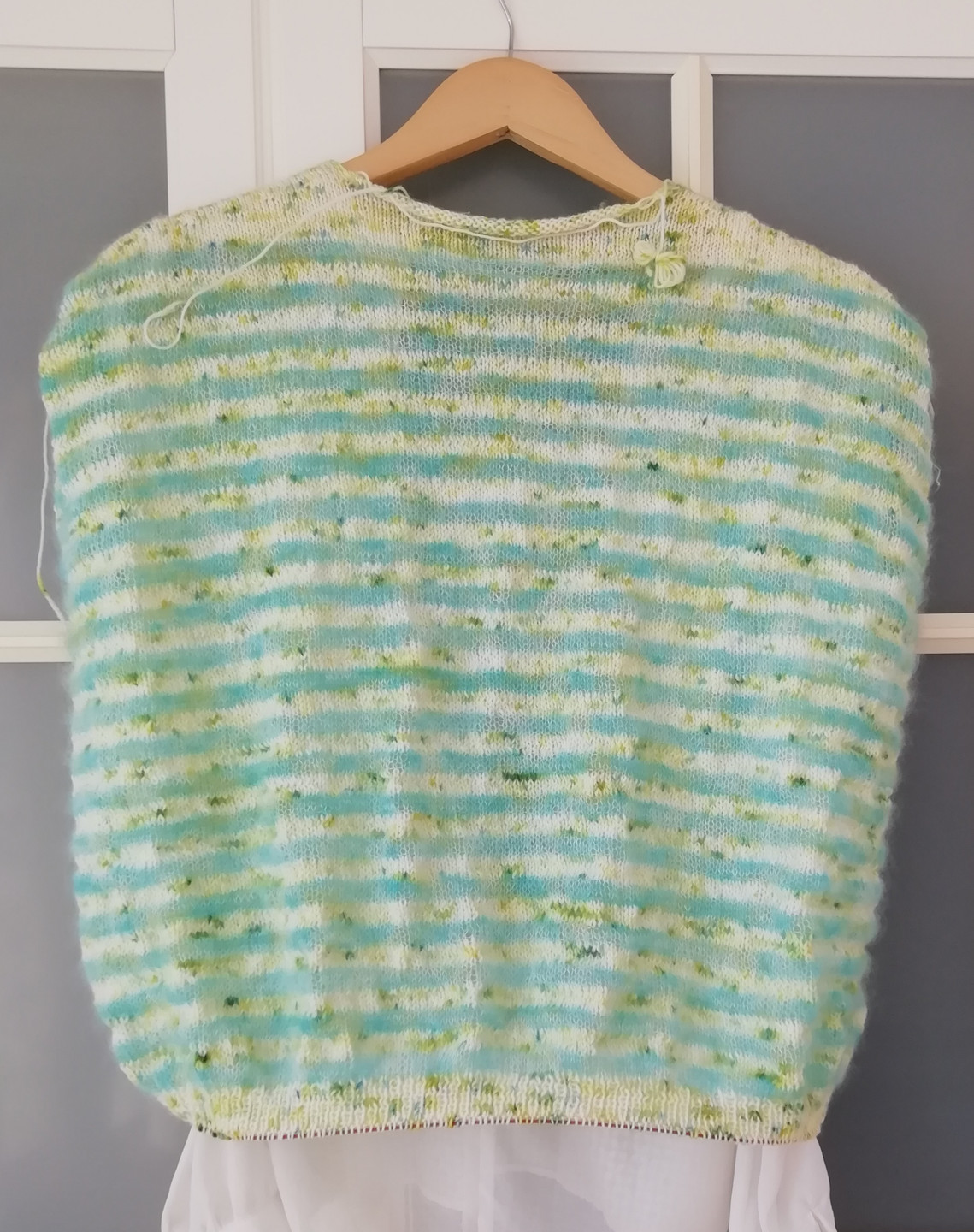 Spring Fresh 4ply & Verdigris Lace by Hennypennymakes