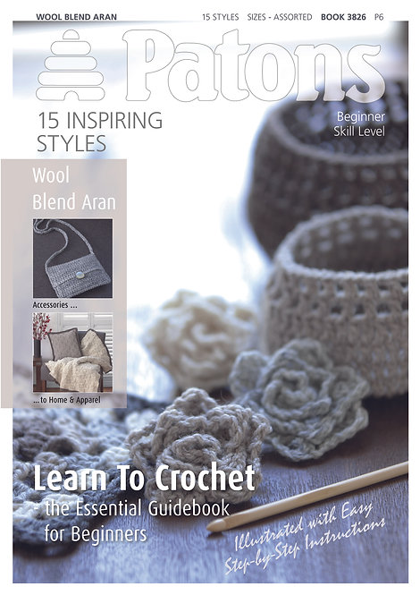 Learn to Crochet (Booklet by Patons)