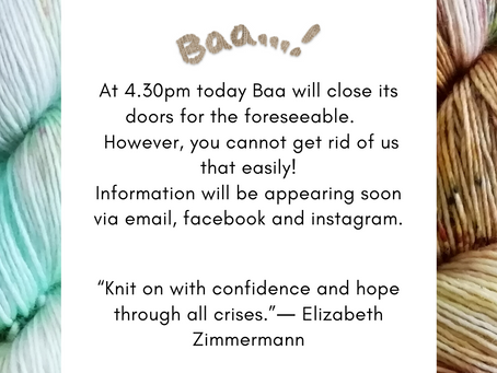 Safety Notice - It's time to get social @ Baa!