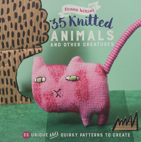 35 Knitted Animals & other creatures