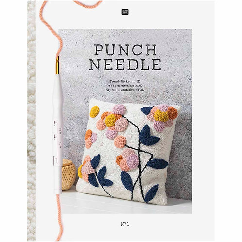 Punch Needle No 1 by Rico