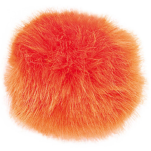 Fake Fur Pompoms by Rico