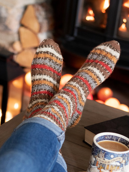 Christmas Sock Yarn by West Yorkshire Spinners