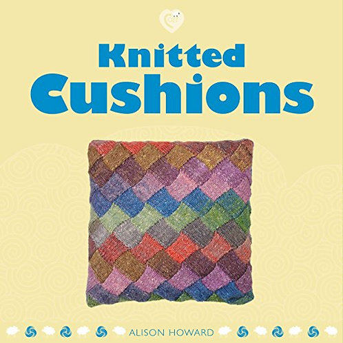 Knitted Cushions by Alison Howard