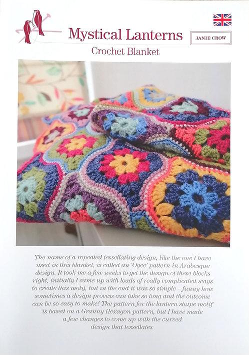 Mystical Lanterns Blanket by Janie Crow