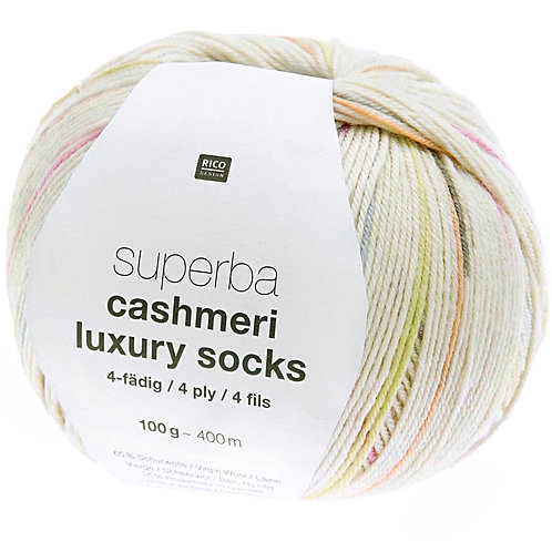 Superba Cashmere Luxury Sock by Rico