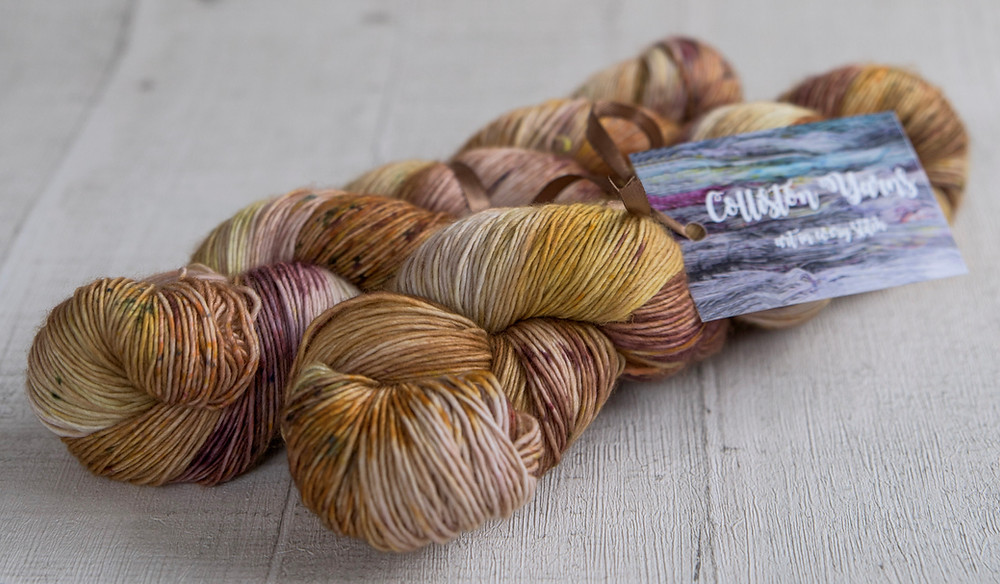 100% merino singles 4ply hand dyed yarn