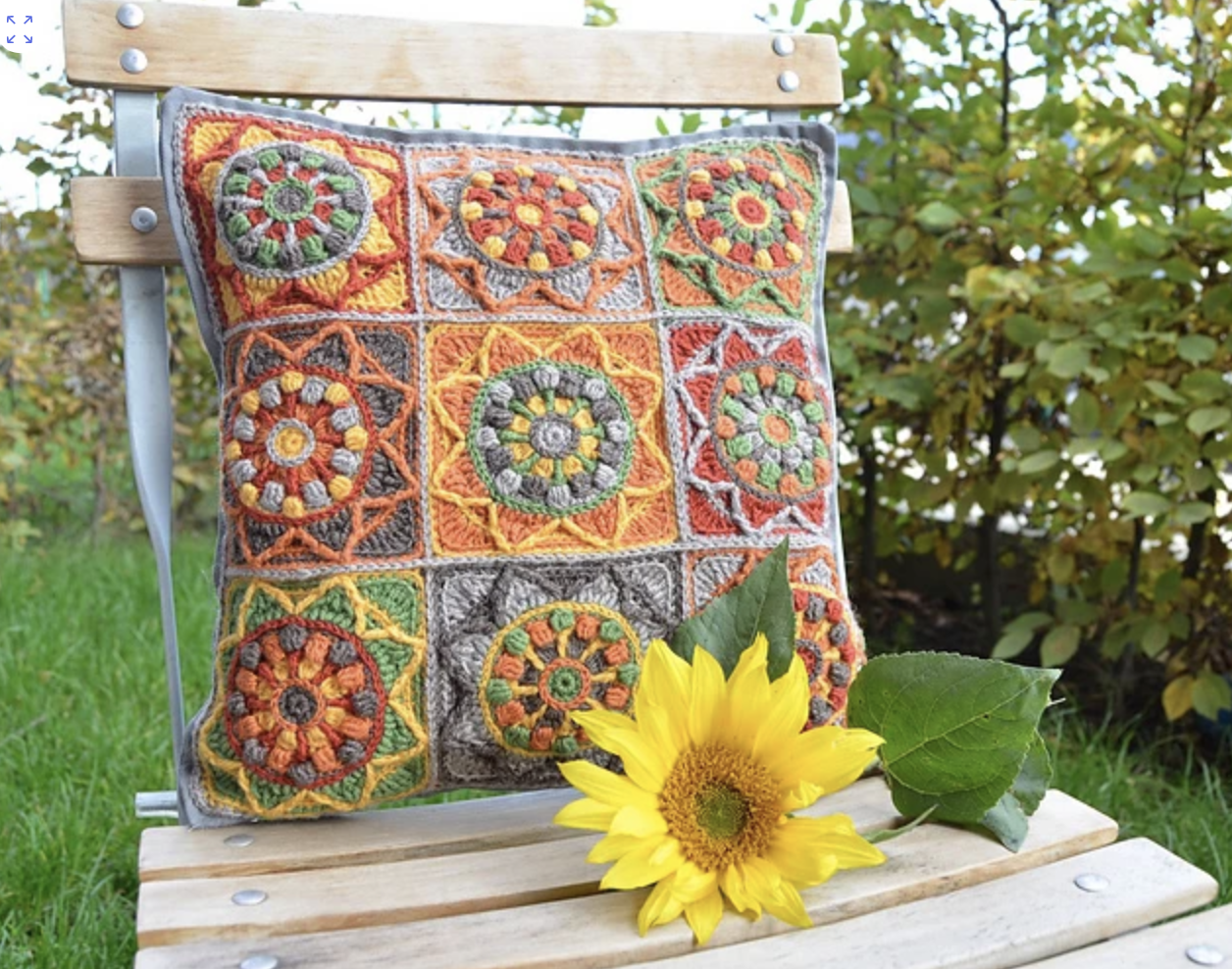 Sunflower Pillowcase by Tatsiana Kupryianchyk