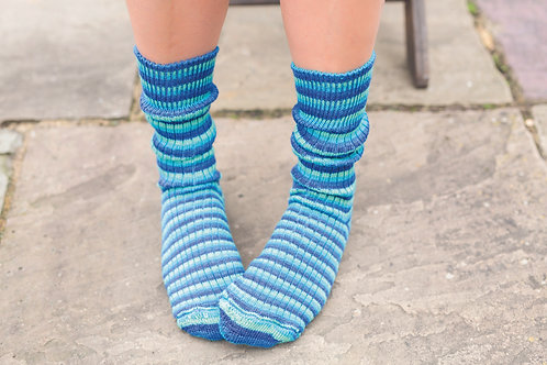 Luxury Bluefaced Leicester Socks