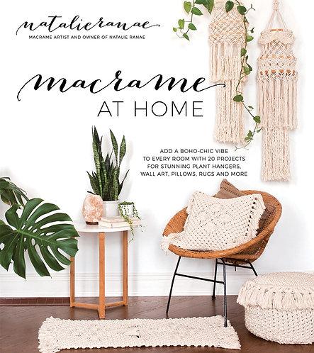 Macrame at Home by Natalie Ranae