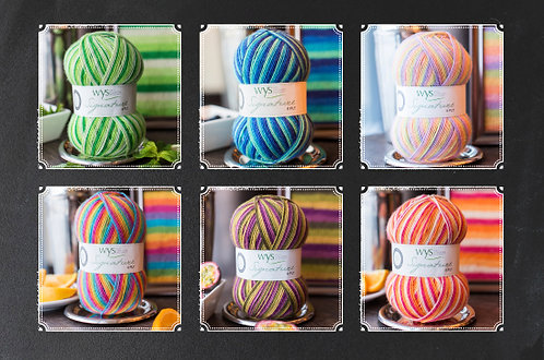Signature 4ply Cocktail Range by West Yorkshire Spinners